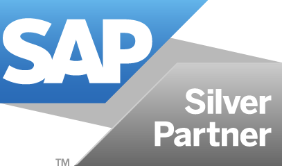 SAP silver Partner badge